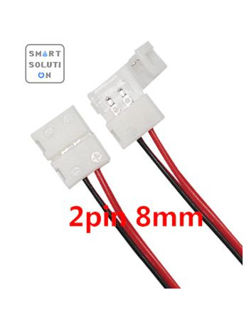 2pin 8mm LED Connector