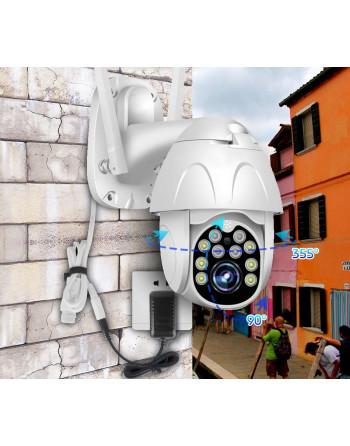 Outside PTZ Wi-Fi camera -...