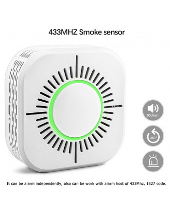Smoke detector 3in1 433MHz