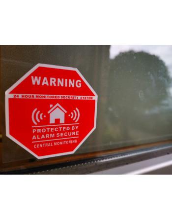 Warning ALARM sticker
