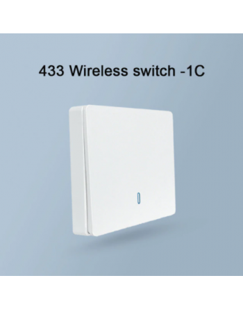 Wall switch working on RF...